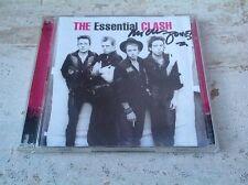 The Clash - Essential Clash  rare signed by Mick Jones 2cd (2005) Sex Pistols