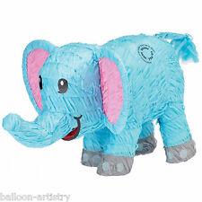 50cm sauvage jungle bleu éléphant Zoo Animal bash PINATA Jeu Fête Décoration