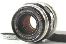 [NEAR MINT] Canon 50mm f2.8 Leica Screw Mount L39 LTM zebra Lens from Japan