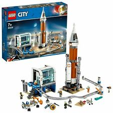 LEGO City Space Rocket and Launch Control Playset with 6 Minifigures -BOX Damage