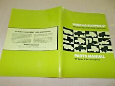 "Memphis Equipment Parts Manual ""M"" Series 5-ton 6x6 (G744)"