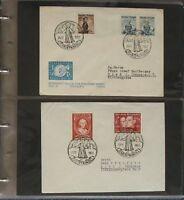 s1733) Österreich Christkindl 79 Belege 1951 - 2007 Stempel 24. + 27. Dezember