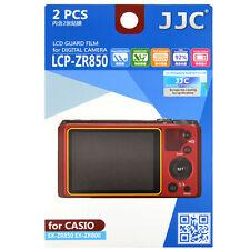 JJC LCP-ZR850 LCD Film Camera Screen  Protector for CASIO EX-ZR850 ZR800_US