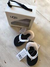 Ugg Baby Flip Flops Usa Size 6/7 Iyia Yia Ii Neon