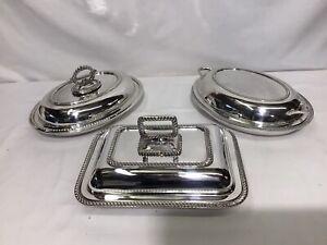 Vintag Silver Plated Tureens Job Lot
