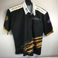 Vtg Phoenix Apparel Federal Ammunition Racing NHRA Pit Crew Shirt Sz L Chevy USA