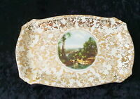 🌟 LORD NELSON WARE CHINTZ CROSSING THE BROOK CAKE SANDWICH TRAY