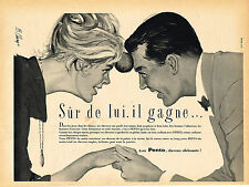 PUBLICITE ADVERTISING 025  1959  PENTO  lotion capillaire