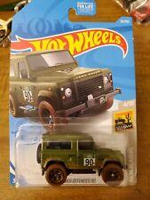 2020 Hor Wheels Land Rover Defender 90 Black Blazers