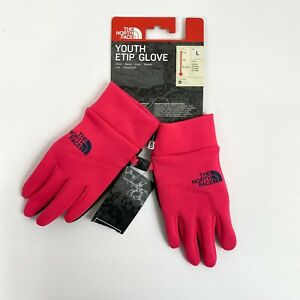 The North Face Youth E-tip Glove Pink Size L NWT