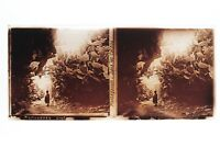 Mostaganem Algeria Placca Lente Stereo Positivo 6x13cm Vintage