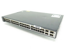 Cisco Ws-C3750V2-48Ps-S Catalyst 3750 v2 Series PoE-48 - Dented Chassis