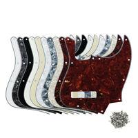 NEW 4-String JB J Bass Pickguard 10-Hole Scratch Plate for FD Jazz Style Bass