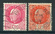 FRANCE 1941/42 timbres 516 et 521, oblitérés