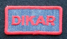 DIKAR FUNGICIDE EMBROIDERED SEW ON ONLY PATCH MITICIDE FARM UNIFORM ADVERTISING
