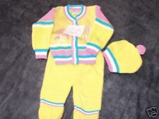 ADORABLE 3 PIECE OUTFIT-0-9 MOS-NEW WITH TAGS BY LITTLE LANA.