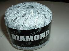 Feza Diamond  - White w/ Silver