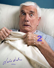 "Leslie Nielsen 8""x 10"" Signed Color PHOTO REPRINT"