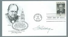 RAAF Air Marshall Frederick Scherges signed cover