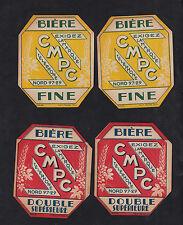 4 Anciennes étiquettes    Alcool  France Bière  BN10194 CMPC