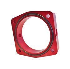Torque Solution Throttle Body Spacer (Red) Fits Nissan/Infiniti VQ35DE Engine