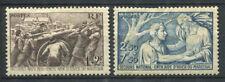 France 1941 Yv. 497-498 Neuf * 80% Secours national