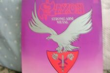 Saxon - Strong Arm Metal (Vinyl Album) . FREE UK P+P ...........................
