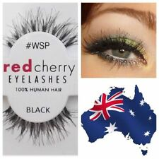 Red Cherry Black Eye Makeup