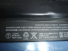 batería original Apple A1494 Macbook Pro 15 A1398 Retina ME293 ME294 2013 2014