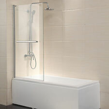 "Pivot Radius Framed 1/4"" Clear Glass 55""X31"" Bath Tub Shower Door Chrome Finish"