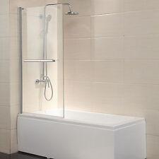 "Pivot Radius Framed 1/4"" Clear Glass 55""X31"" Bath Tub Shower Door Chrome Finish"