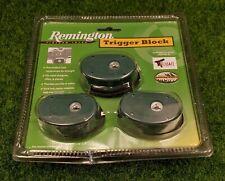 Remington Safety Trigger Blocks - Securely Locks w/ Keys (3 Pack) - 19439