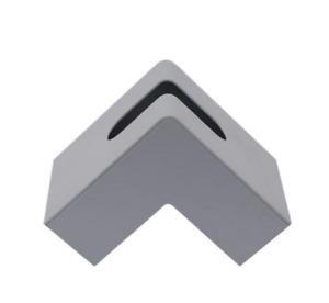 Modern Industrial Resin Tissue Box Holder Unique Minimalist Napkin Storage Desk