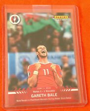 2016 Panini Instant GARETH BALE Wales EURO CUP Red #4 (Print Run /67 Made)