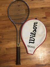 Vintage WILSON Tennis Racquet - T2000 - with Cover - GC  Original Owner