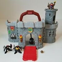 Small Fisher Price Great Adventures All In One Castle 72849 Vintage 1998