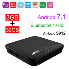 MECOOL M8S PRO Android 7.1 DDR4 3GB 32GB Amlogic S912 BT4.1 Smart TV Box UHD 4K