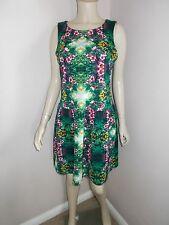 Womens TKMaxx Cynthia Rowley orchid garden dress size 12 UK 40 Eur 8 US
