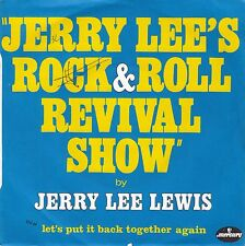 """45 T SP JERRY LEE LEWIS  """"JERRY LEE'S ROCK & ROLL REVIVAL SHOW"""""""