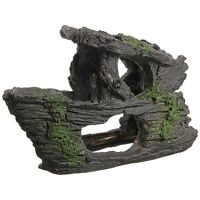 Aquarium Decoration Rock Grotto Cave Fish Tank Terrarium Decor Shape 88x150mm T1