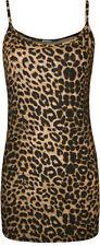Hip Length Leopard Regular Size Tops & Shirts for Women