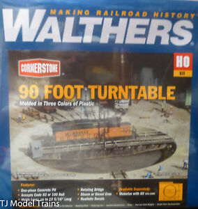 Walthers HO #933-3171 90 Foot Turntable (HO Scale)