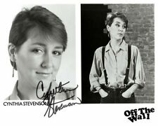 "CYNTHIA STEVENSON AUTOGRAPHED SIGNED 8X10 PROMO PHOTO ""OFF THE WALL"""