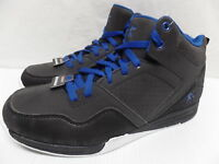 AND1 Mens Capital Black/Royal Athletic Basketball Sneakers