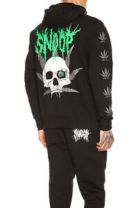 SSS World Corp Snoop Dogg Hoodie Weed Skull SSSnoop very rare