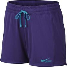 Nike Fly Womens Lacrosse LAX Shorts Dri-Fit Court Purple Small S NWT Stay Cool