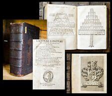 1585 Auctores Latinae linguae in unum redacti corpus Varro Verrius Flaccus