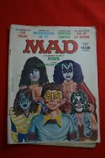 VERY RARE MAD ARGENTINA MAGAZINE # 43 exclusive COVER KISS - 1980