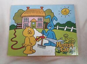 Retro 1982 Henry's Cat Kids Jigsaw Puzzle Complete! 25 Pieces, Arrow Puzzles