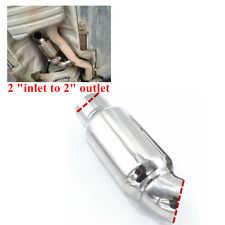 "Exhaust Muffler / Resonator - 304 Stainless Steel - 2 "" Stainless Steel Auto Car"